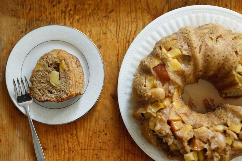 apple olive oil cake 14
