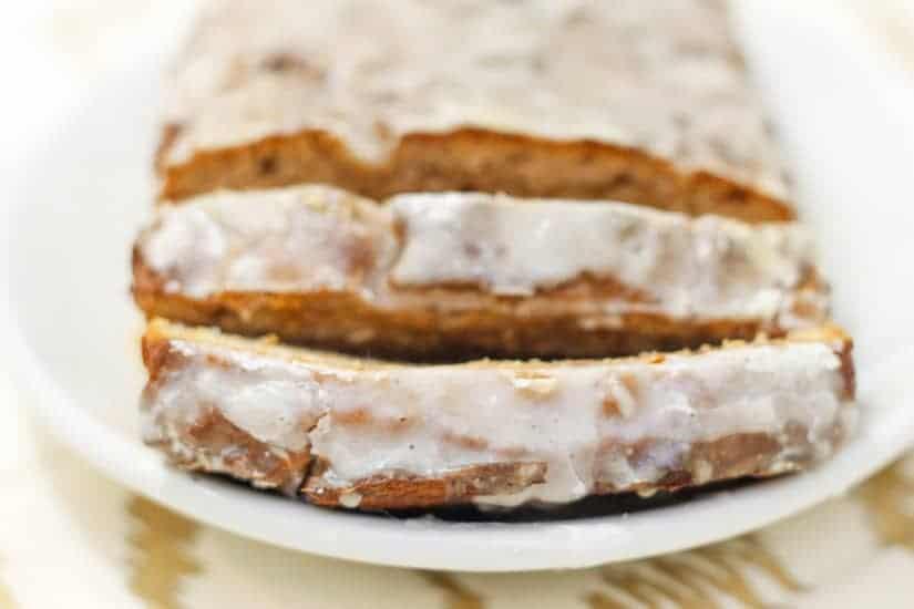 Vegan spiced apple butter cake 11