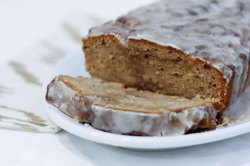 Vegan spiced apple butter cake 13