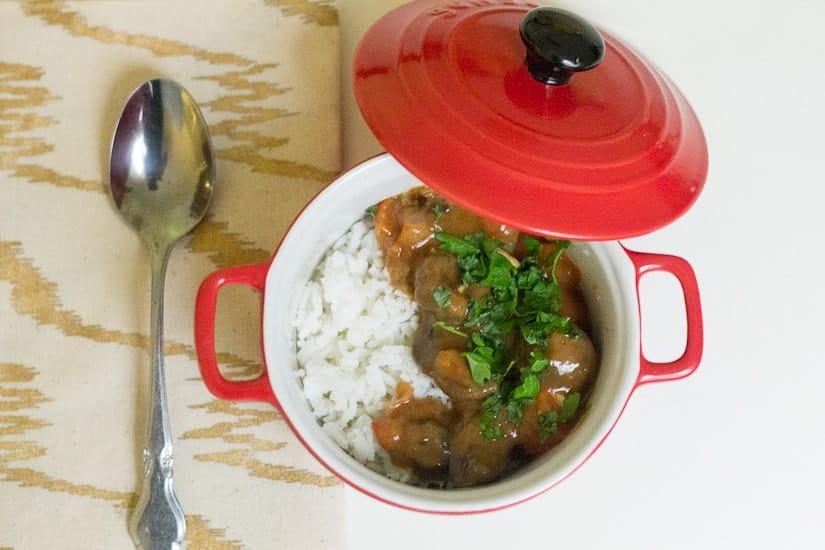 Hearty tomato mushroom stew 7