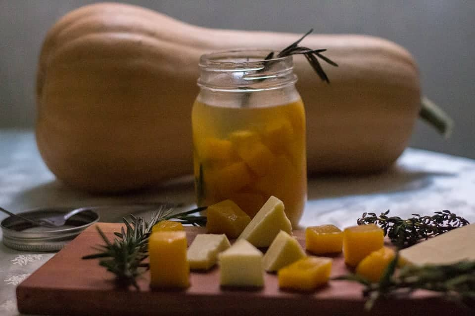 Butternut squash pickles