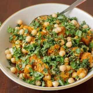 """Tunisian """"Tirshi"""" squash salad"""