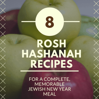 Rosh Hashanah menu for an Angelic Jewish New Year
