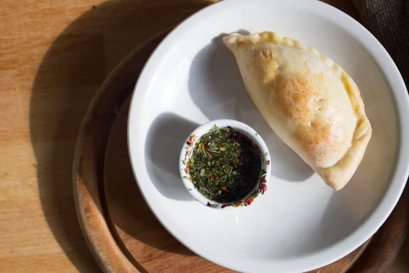 Authentic Argentinian vegetarian empanadas