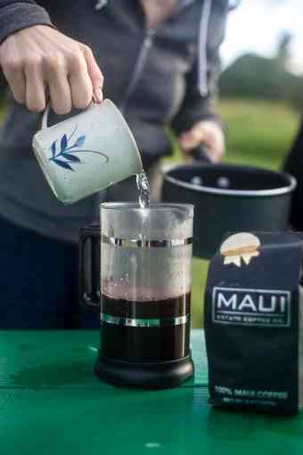 Maui, Day II + the perfect cup of Maui Estate Coffee