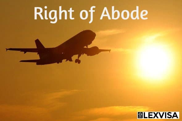 The Right of Abode in the UK and Certificate of Entitlement
