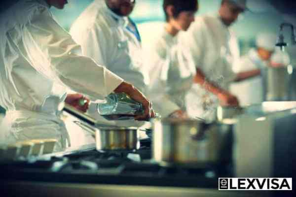 South Asian chefs work permits
