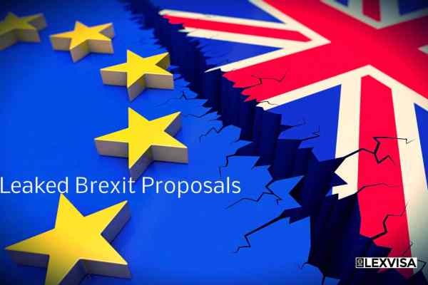 Leaked Brexit Proposals Reveal the Upcoming Harsh Rules for EU citizens