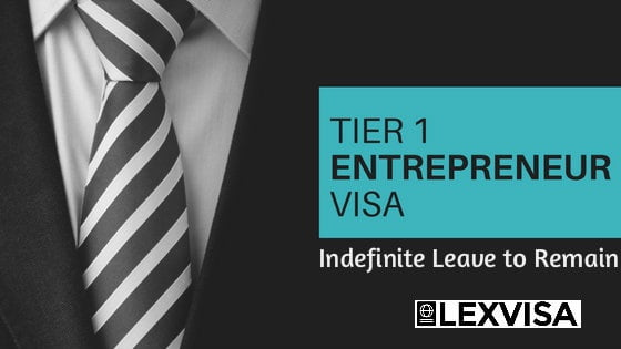 Tier 1 Entrepreneur Indefinite Leave to Remain