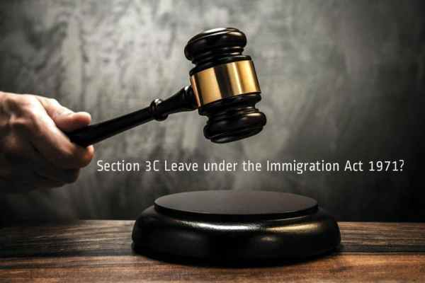 What is Section 3C Leave under the Immigration Act 1971?