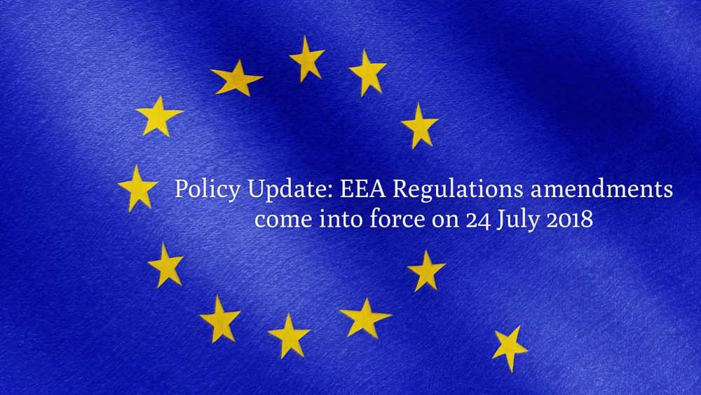 EEA Regulations