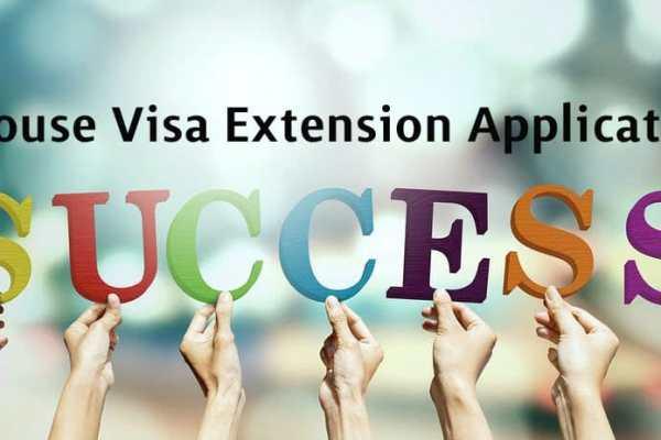 Success Story: Spouse Visa Extension Application