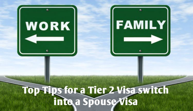 Tier 2 visa Switch