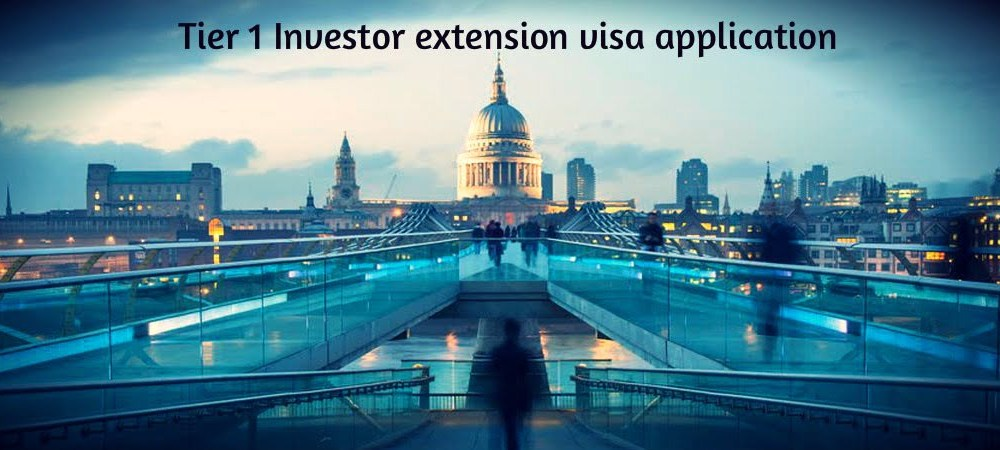 Tier 1 Investor extension visa