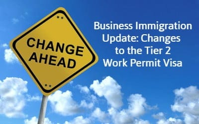 Business Immigration Update: Changes to the Tier 2 Work Permit Visa