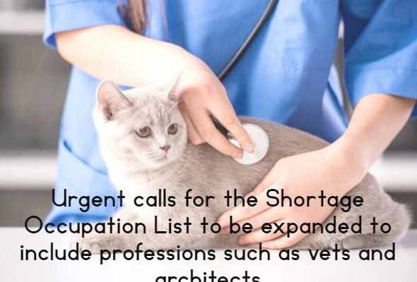 Urgent calls for the Shortage Occupation List to be expanded