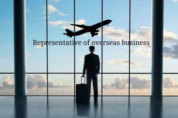 Representative of Overseas Business