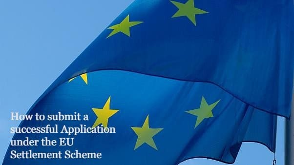 How to submit a successful Application under the EU Settlement Scheme LEXVISA London