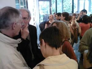 Michel Rolin, organisateur de l'exposition