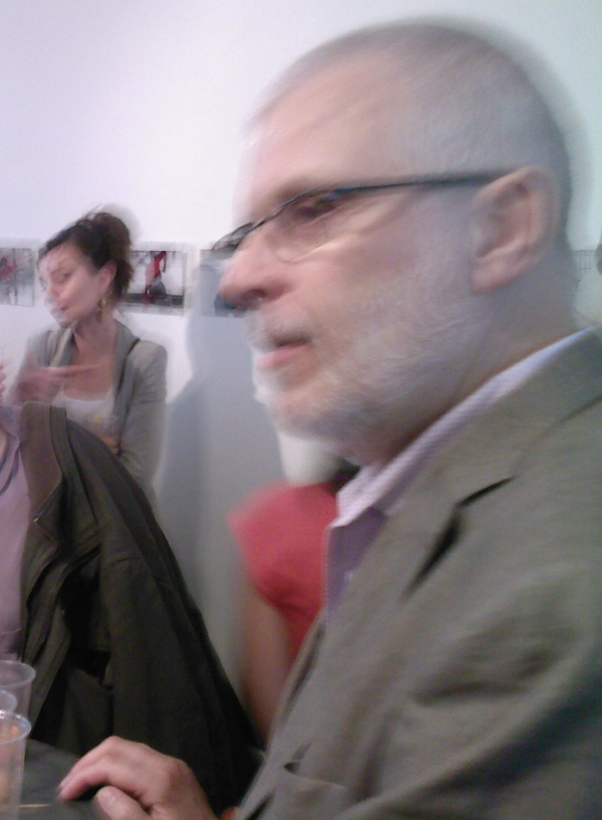 Pierre-André Lestocart, organisateur de l'exposition