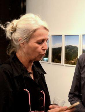Line Lavesque ( Commissaire de l'exposition auprès du Conservatoire du Littoral )