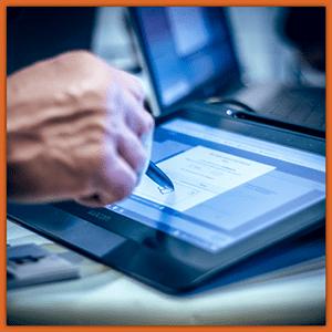 signature électronique sur tablette IMMOSIGN