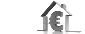 Haus mit Euro