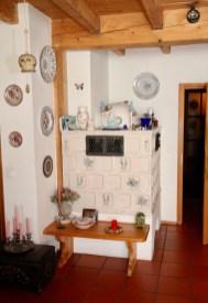 Kamin in Wohnzimmer