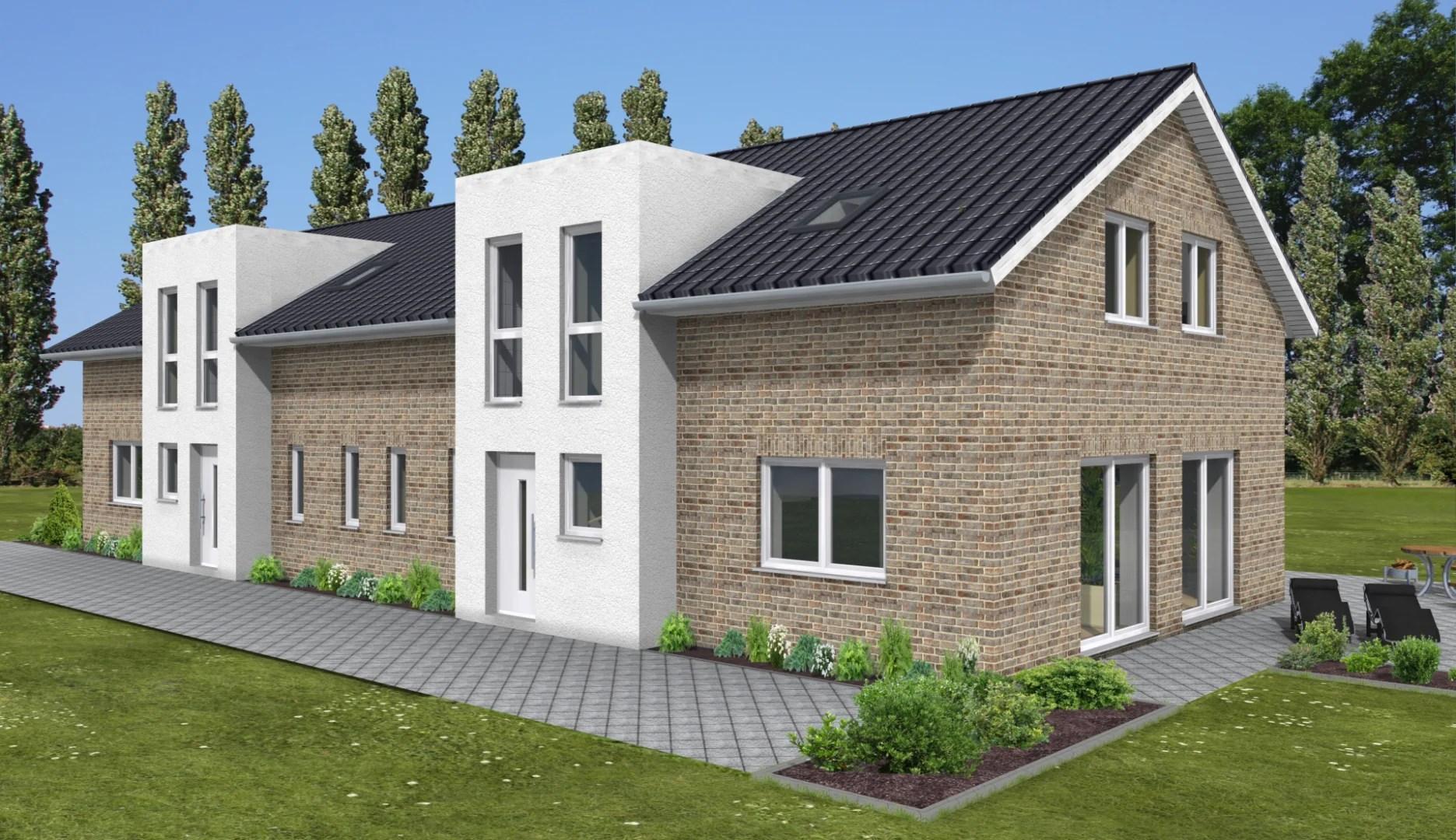 Neubau in Küstennähe, DHH inkl. Südgrundstück in Varel, KfW 55 Energie-Effizienshaus I GSNR 5 I Exposé Nr: 119/19