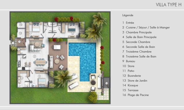 Villa Type H