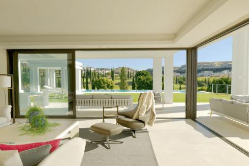 Villa de luxe à vendre à Los Flamingos-3