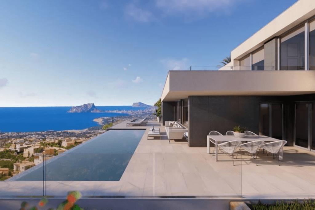 Villa de luxe de 3 chambres en vente Benitachell, Espagne € EUR Espagne-5