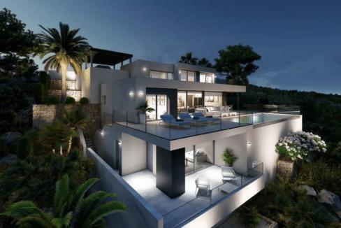 Villa de luxe de 3 chambres en vente Benitachell, Espagne € EUR Espagne