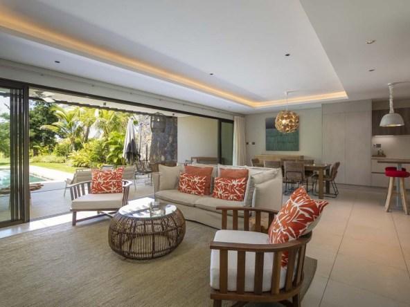Villas de luxe avec Beach Club privé à l'Île Maurice.||||||||||