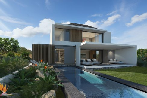 Exterior with pool - Villa Pure