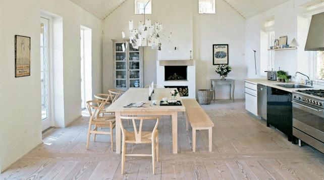 Habitation scandinave