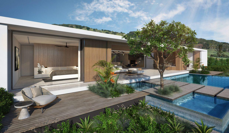 Grande Villa 4 chambres avec terrasses couvertes île Maurice