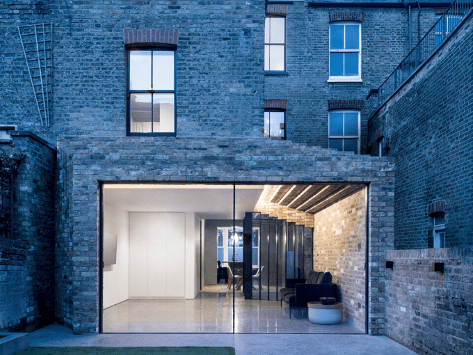 Blending Old and New  6 Bold Glass Additions to Traditional English Homes