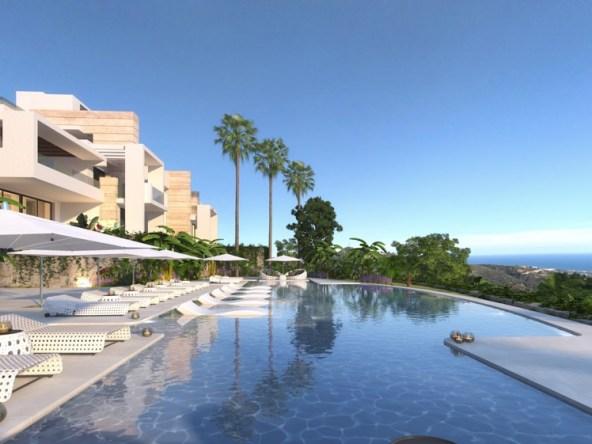 Nouveau projet moderne dans les montagnes d'Ojen- à partir de €445.000|Espagne immobilier||||||||||||||||||