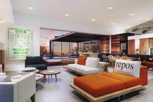 8 villas de luxe au bord de la rivière