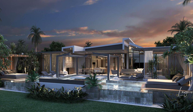 Ces villas d'architectes s'inscrivent dans un concept de prestige inégalé.