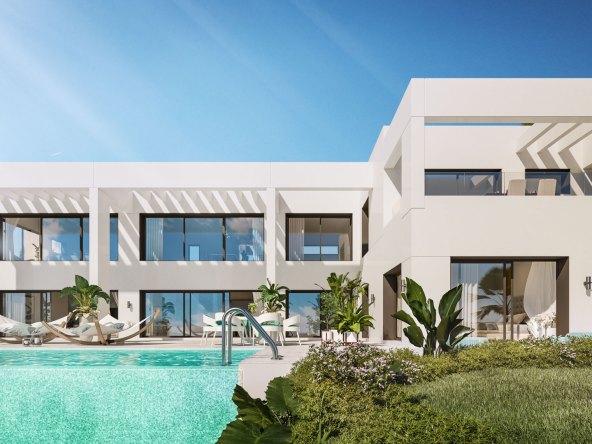 un développement de luxe