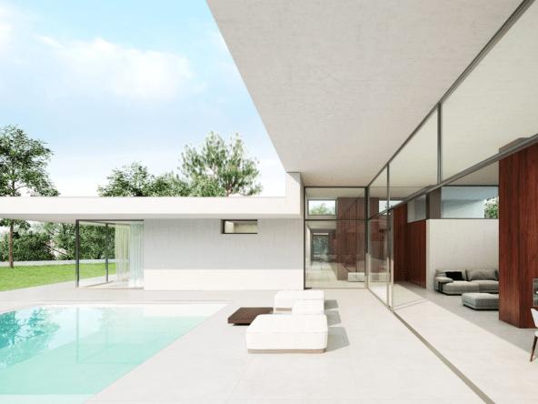 La villa est vendue clé en main terrain inclus à € 1 880 000.- | Espagne