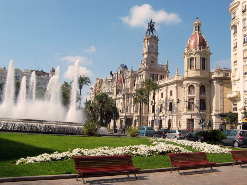 place de la ville de Valencia