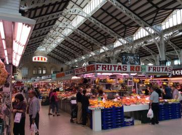 Le coût de la vie est très abordable sur les marchés de Valence