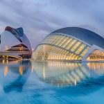 cite des arts et des sciences de la ville de Valencia