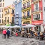 terrasses et cafés de la cathédrale