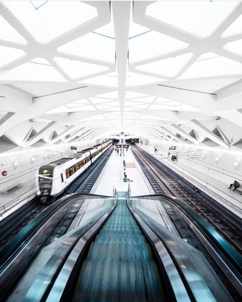 le métro de Valence