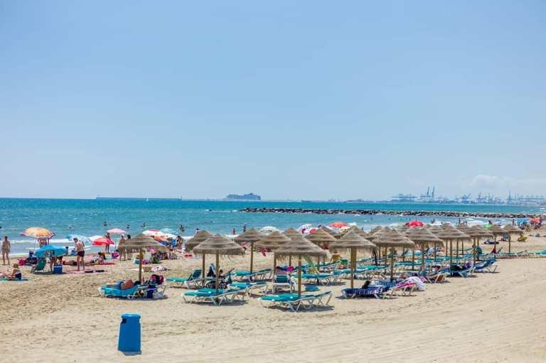 plage espagnole pour la retraite