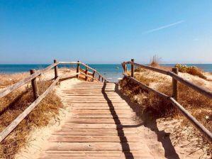 plage el saler en Espagne